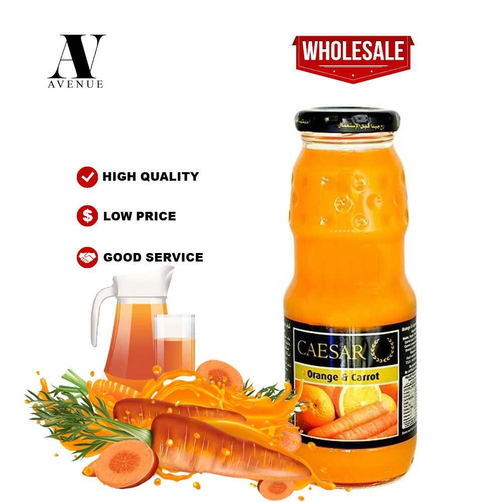 Caesar juice Orange & Carrot 250 ml  عصير سيزر