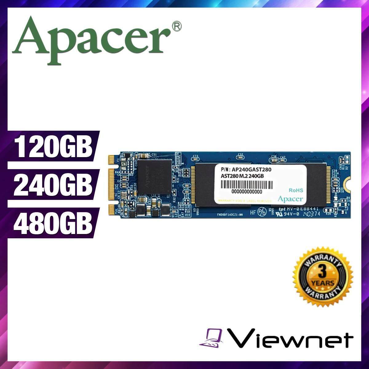 Apacer AST280 (120GB/240GB/480GB) M.2 SATA III SSD