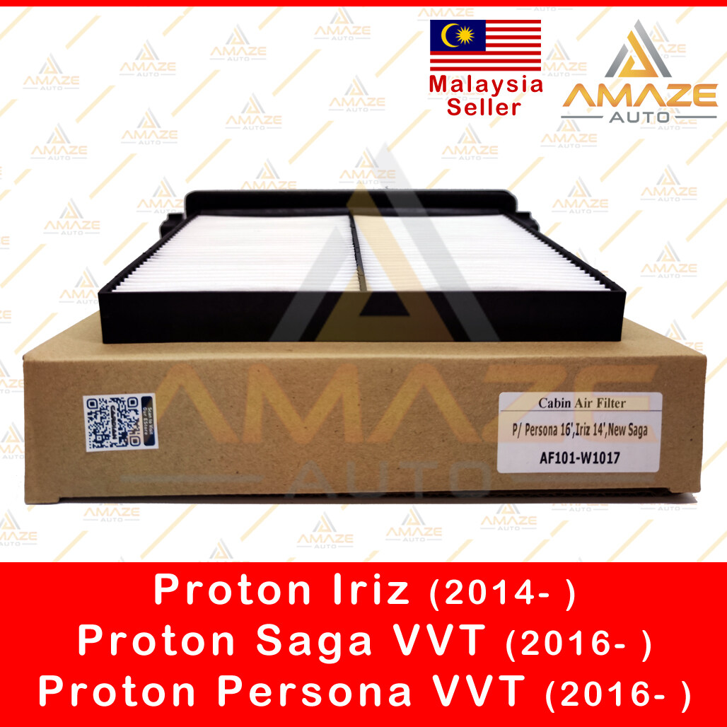 Air-Cond Cabin Filter with holder for Proton Iriz (2014- ), Saga VVT (2016- ) & Persona VVT (2016- ) - Amaze Autoparts