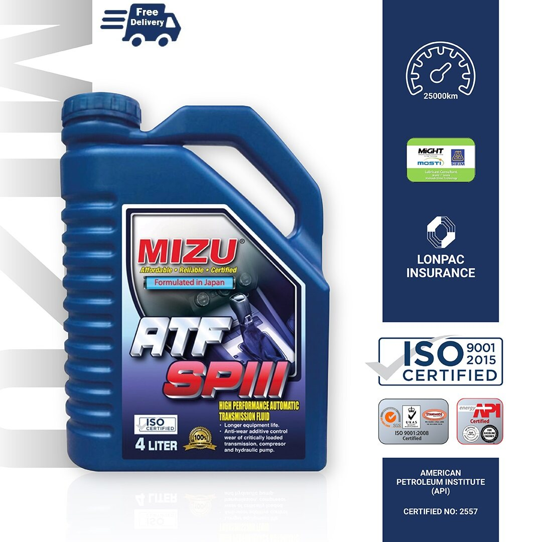 MIZU ATF SP3  Fully Synthetic [New Product]