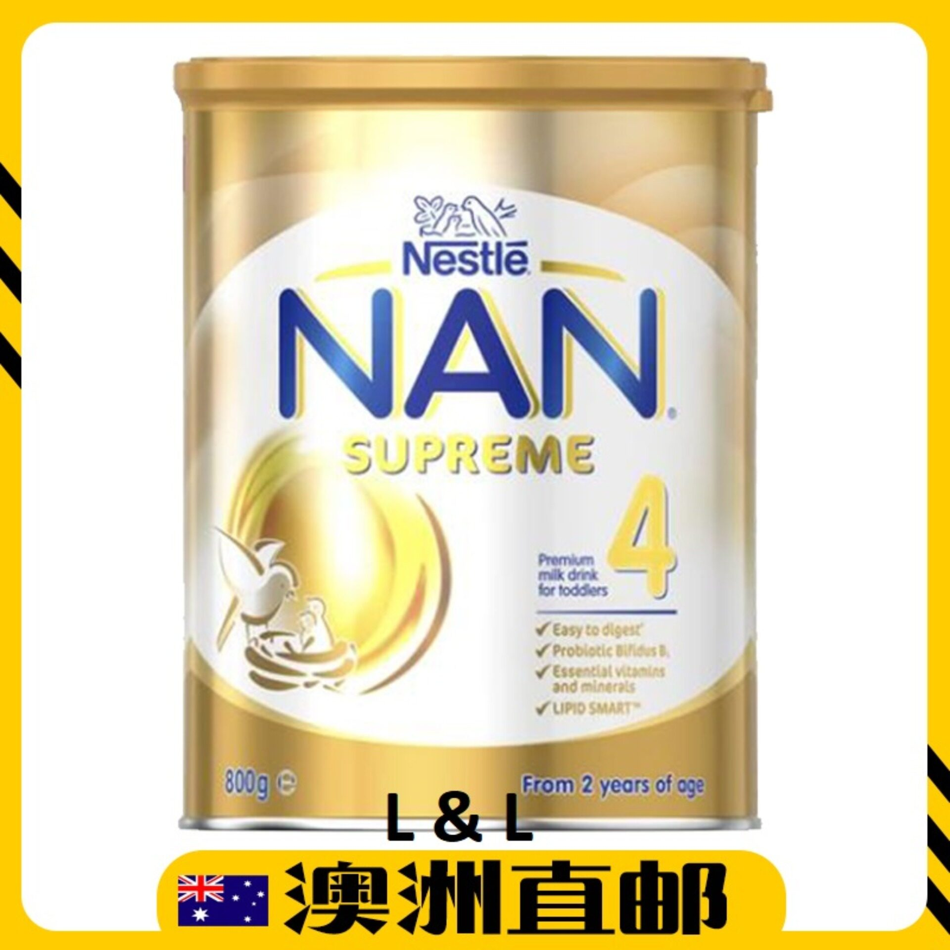[Pre Order] Australia Import Nestle Nan Supreme Step 4 ( 2 years + ) 800g Twin Pack
