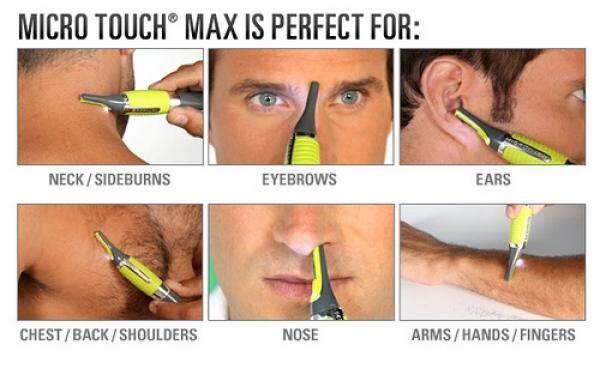 [READY STOCK] Multi-Function TRIMMER / SHAVER FOR MEN - Trim Nose, Eyebrow, Sideburns etc