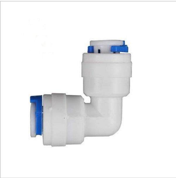 Union Elbow Fitting Connection For Water Filter / RO System 1/4'' (8 Pcs)