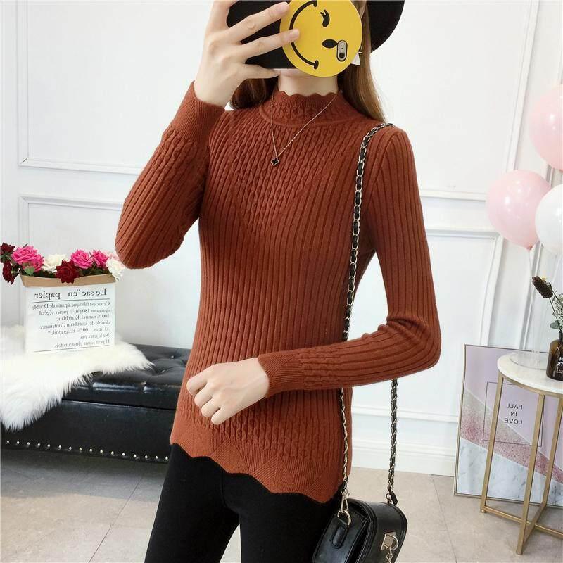 (Pre Order14 Days JYS Fashion Korean Style Women Knit TopCollection526-2755col525a-2755--Brown -L