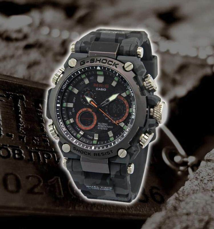 Shock Resist Sport Watch Casio_G_SHOCK_Dual Time Dual Time Display Fashion Casual Watch For Men