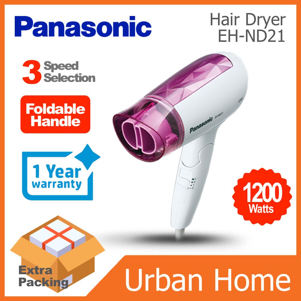 PANASONIC 1200w Foldable Hair Dryer (EH-ND21/EHND21)