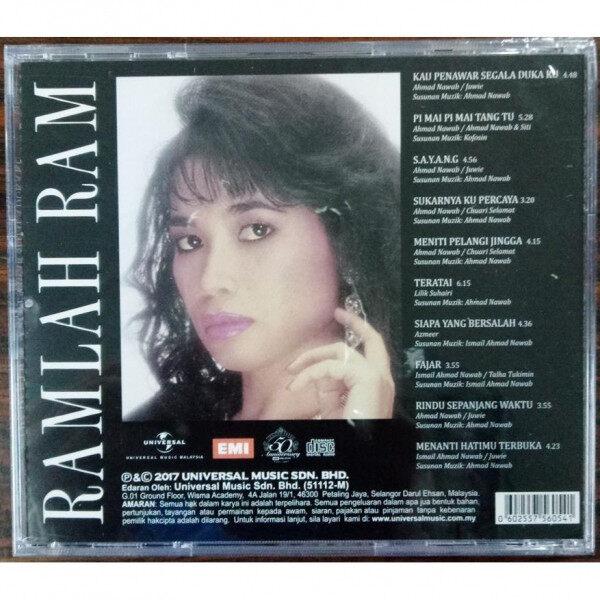 Ramlah Ram Kau Penawar Sekala Duka Ku Music CD