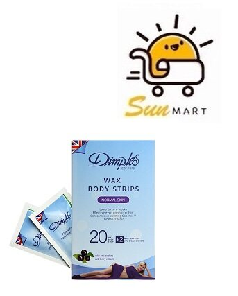 DIMPLES WAX BODY STRIPS NORMAL SKIN
