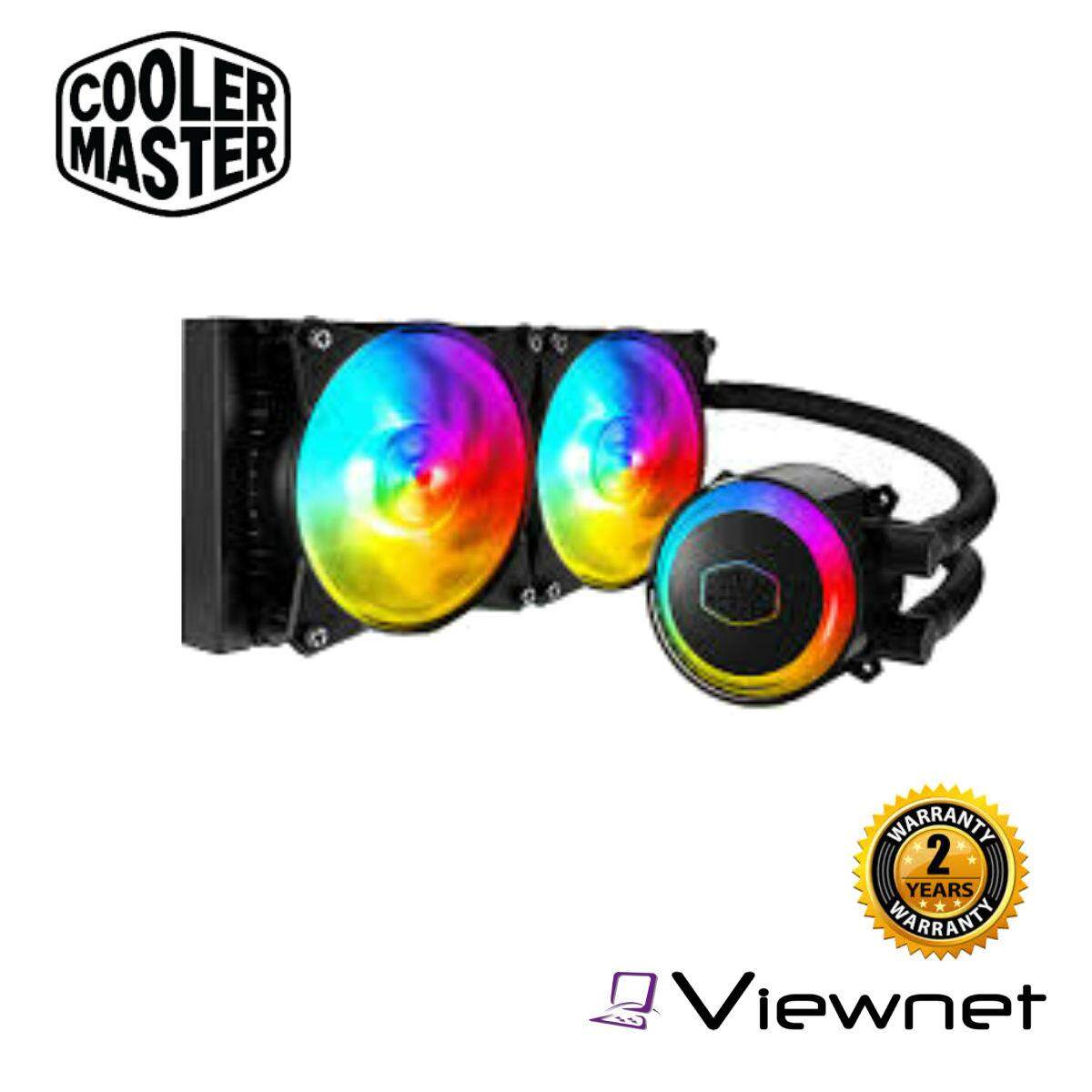 Cooler Master MasterLiquid ML240R RGB Water Cooling (MLX-D24M-A20PC-R1)