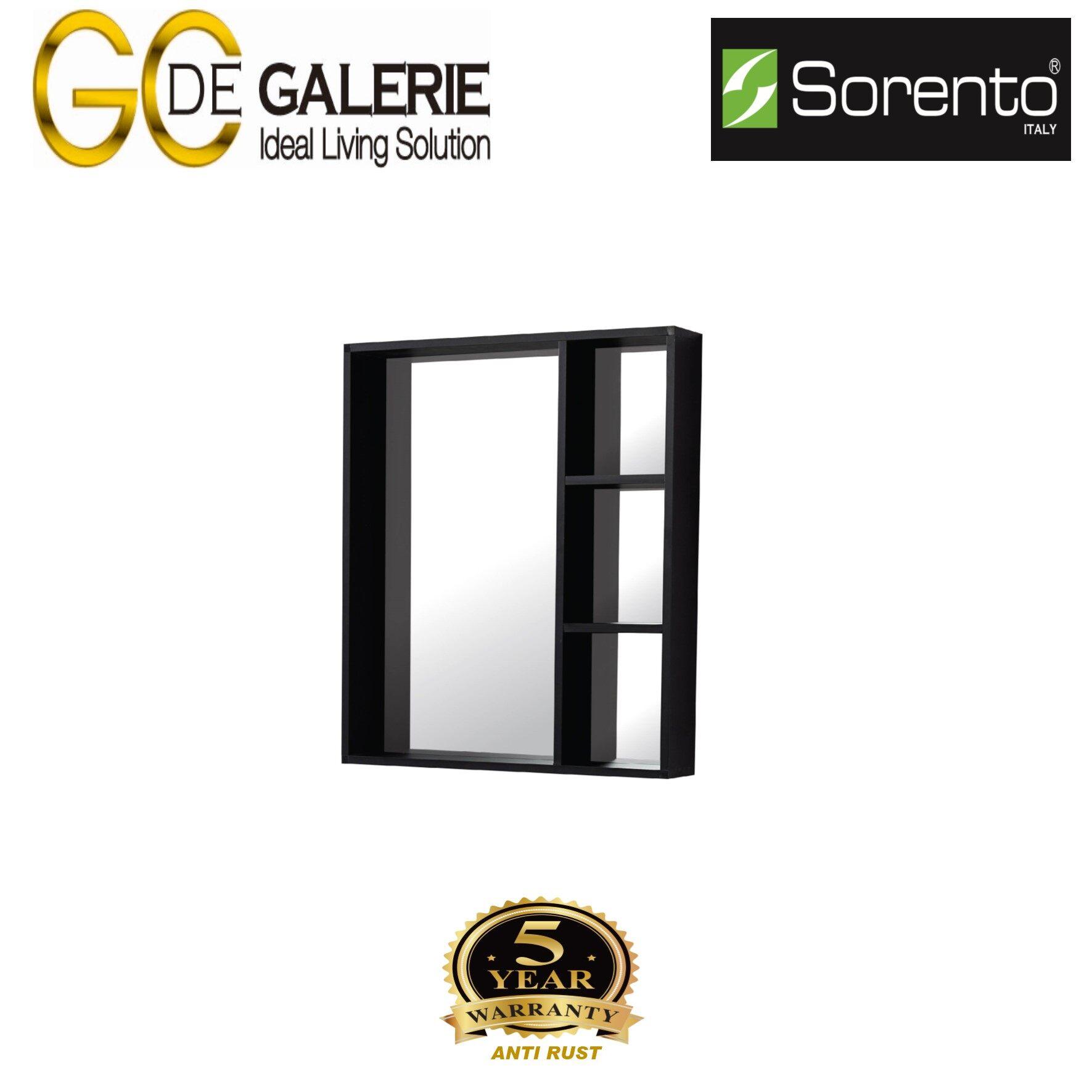 Sorento SRTMCB6062-BL Bathroom Aluminium Mirror Cabinet