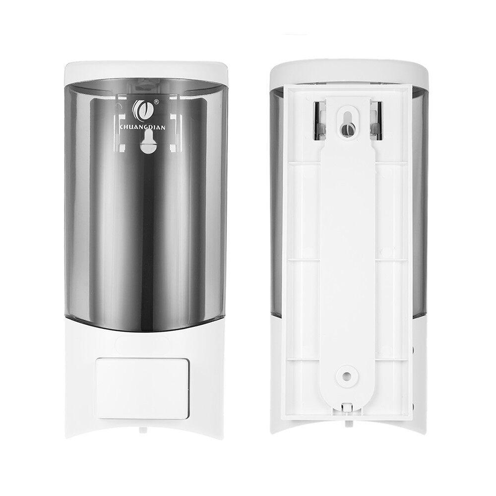 Chains & Locks - Manual Soap Dispenser Shampoo Box Hand Washing Liquid Shower Gel Dispenser - CHAMPAGNE / WHITE / SILVER