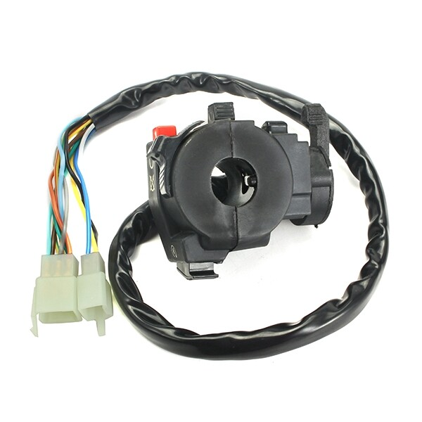 Moto Spare Parts - Black Plastic ATV Left Switch Assembly With Five Function For Quad Bike - Motorcycles, & Accessories