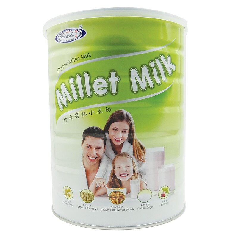 MHP Miracle Organic Millet Cocoa [HALAL] / Millet Milk 900g