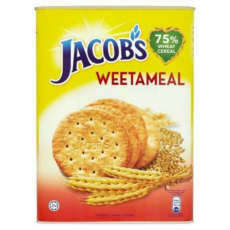 Jacob's Crackers Weetameal 700gm READY STOCK