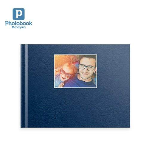 "[e-Voucher] Photobook Malaysia - 11"" x 8.5"" Medium Landscape Debossed Hardcover Photobook 40 pages"