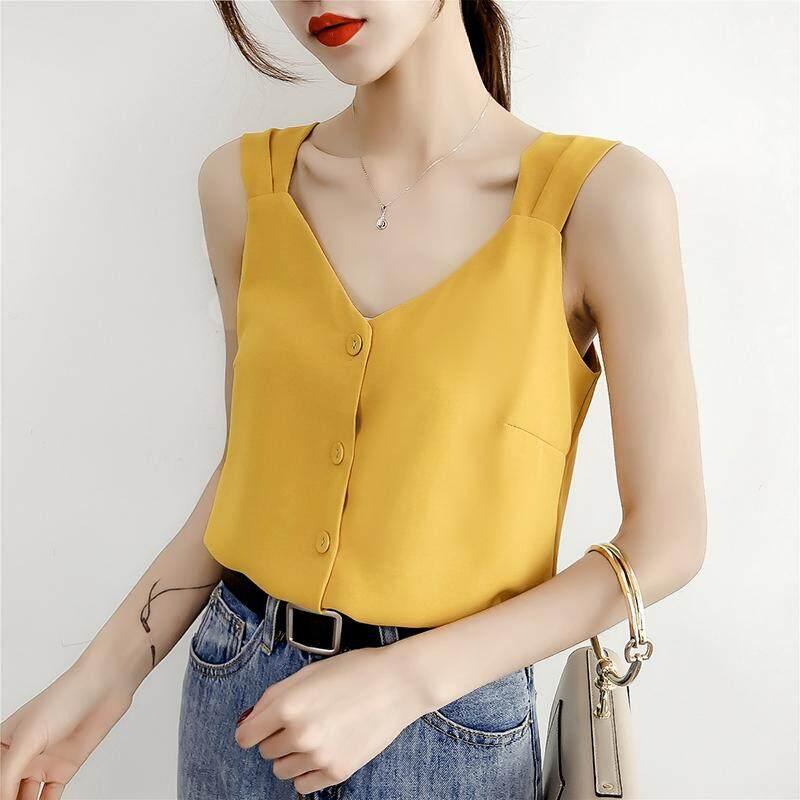 (Pre Order14 Days JYS Fashion Korean Style Women Chiffon top Collection -5217812col521-7812--Yellow -S