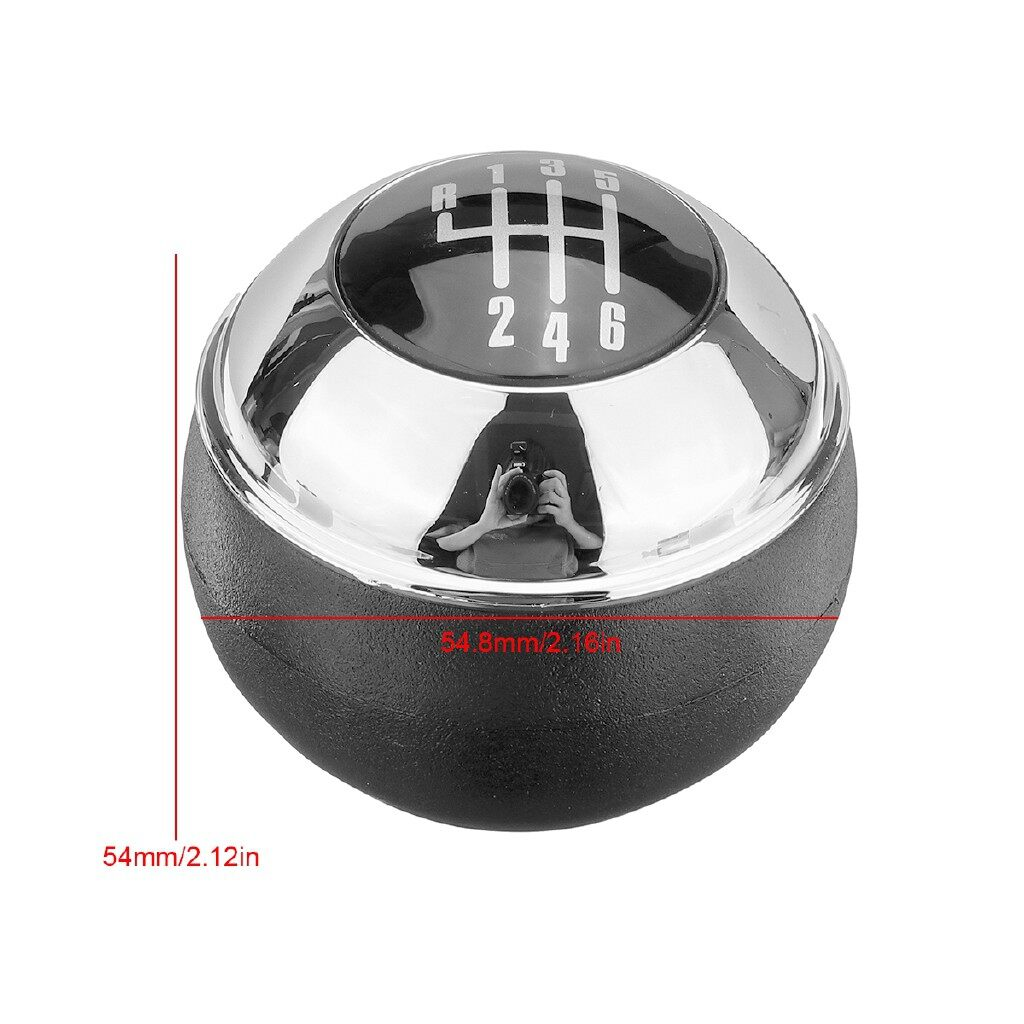Steering, Seats & Gear Knobs - 6 Speed Car Gear Shift Knob Manual Chrome For MINI R50 R52 R53 COOPER 7542272 - Car Replacement Parts