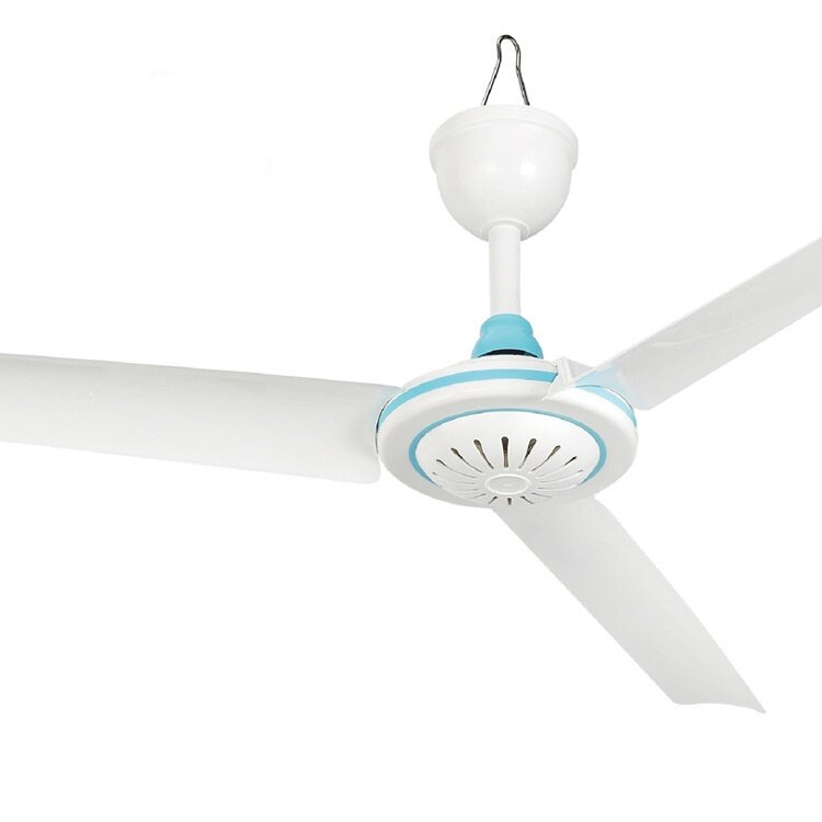 DC 12V Low-voltage Ceiling Hanging Fan Household Camping Electrical Fan
