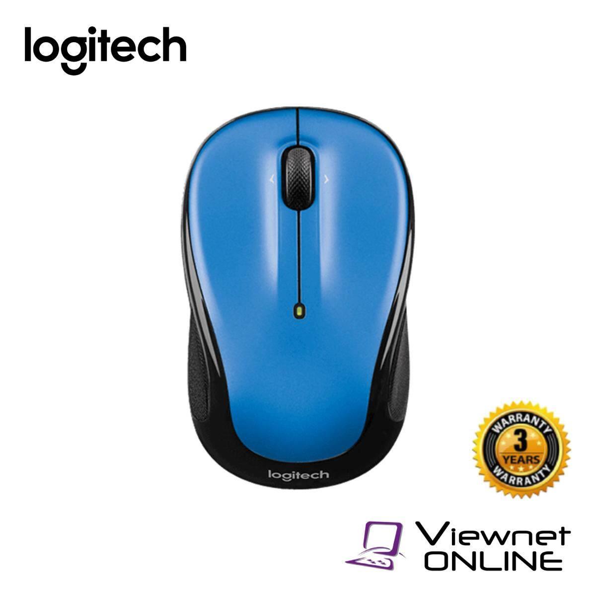 Logitech M325 Wireless Mouse (Peacock Blue / Light Silver / Dark SIlver)