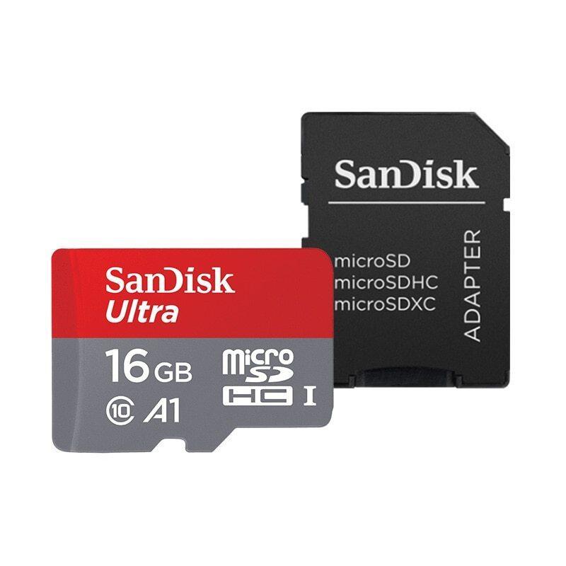 {Được Ưa Chuộng Nhất Trong Năm 2021} Thẻ SanDisk Micro SD 512GB 400GB 256GB 200GB 128GB 64GB 98 MB/giây 32GB 16GB A1 Bộ Nhớ Thẻ Thẻ TF THẺ Flash C10, Với Bộ Chuyển Đổi