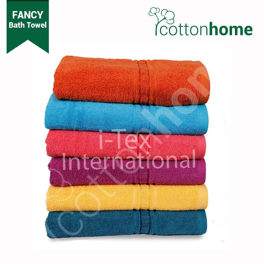 READY STOCK: FANCY Bath Towel (Size: 27inch x 54inch) - 420 grams approx
