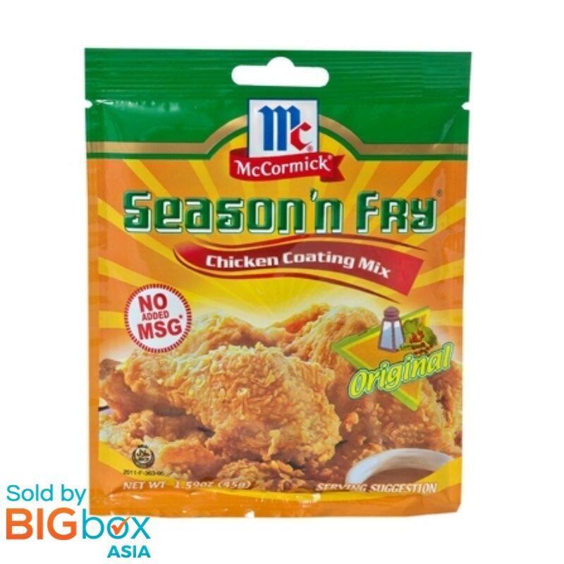 McCormick Season N Fry 45g - Original Flavour