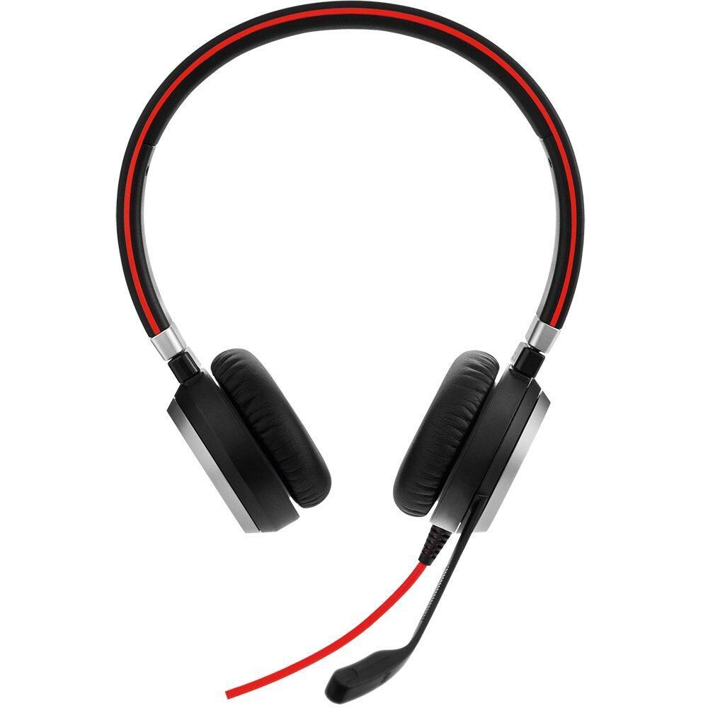 Jabra Evolve 40 MS Stereo Wired Headset / Music Headphones