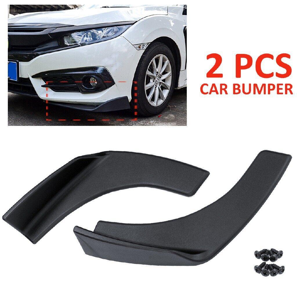 Floor Mats - 2 PIECE(s) Universal Car Front Bumper AntiScratch Lip Splitters Winglets - Car Accessories