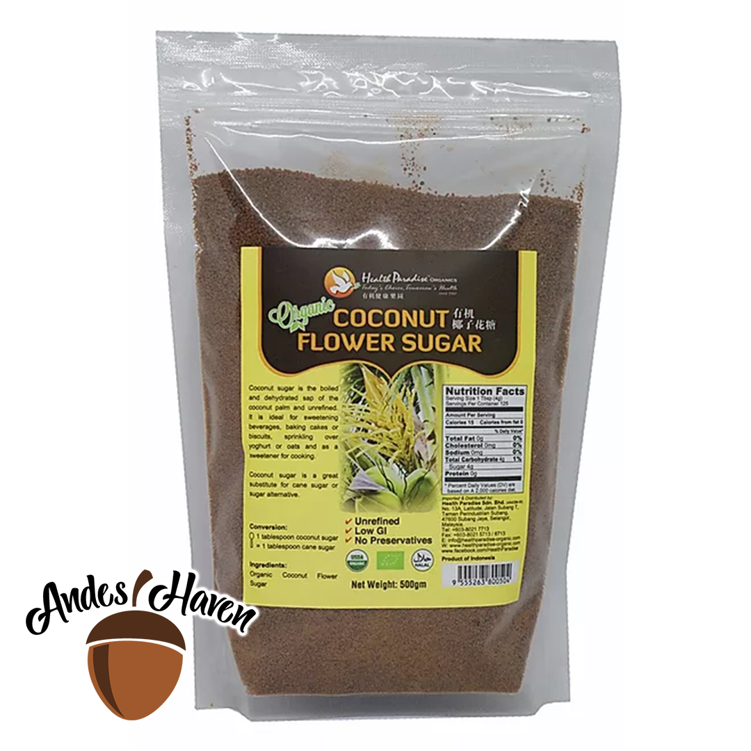 【Health Paradise】Coconut Flower Sugar - 500g
