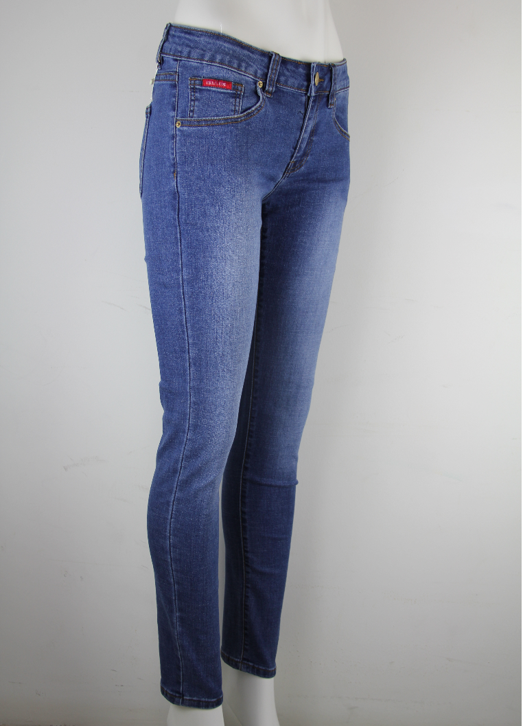 GOGGLES Ladies Denim Jeans Slim Fit Medium Blue 100359