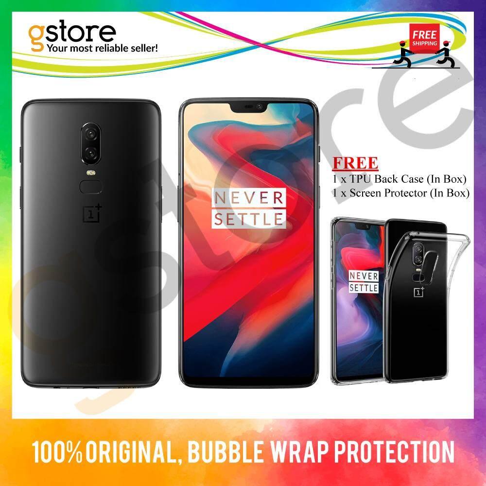 (Malaysia Set) OnePlus 6 A6003 [128GB/256GB ROM] Original Set + Free 1+1 Year Extended Warranty (worth RM298)