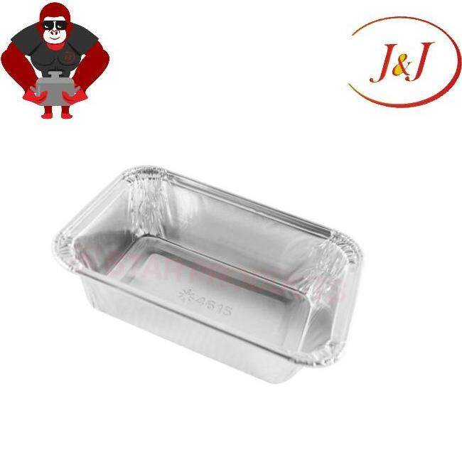 STAR PRODUCT 4618-P 10Pcs Rectangle Aluminium Foil With Cover