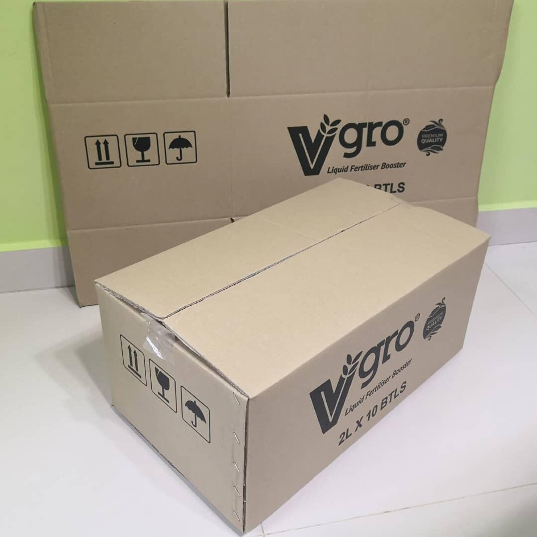 10pcs Printed Carton Boxes (L515 X W296 X H220mm)