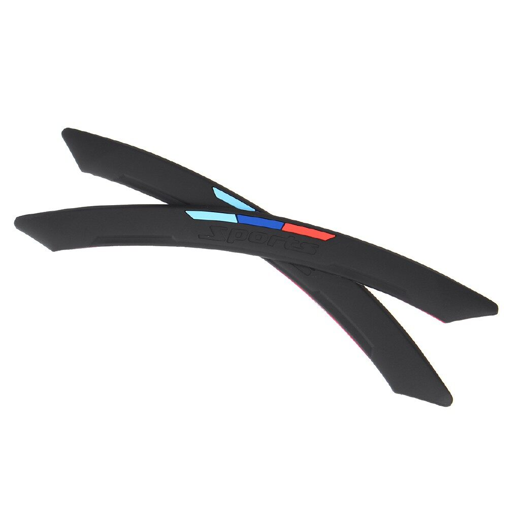 Automotive Tools & Equipment - Sport Car SUV Wheel Arch Trim Fender Flare Eyebrow Protector Sticker Stripe - Car Replacement Parts