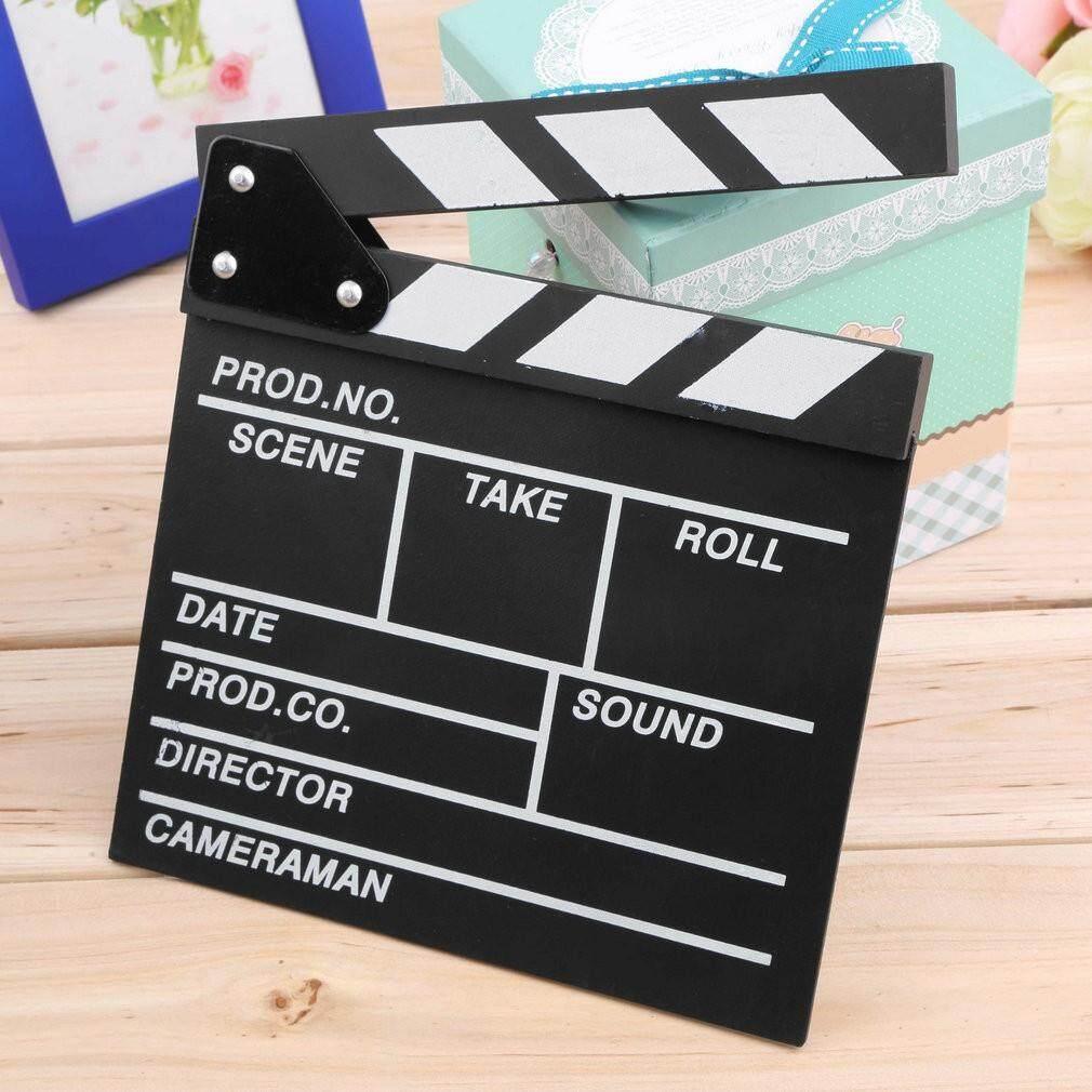 School & Office - Director Video Scene Clapperboard Clapper Board Cut Prop - Stationery
