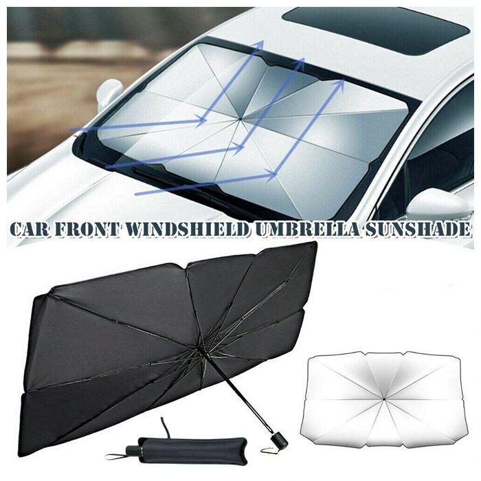 Universal Car Windshield Sun Shade Cover Sunshade Front Window Mount Umbrella Car Windshield Parasol UV