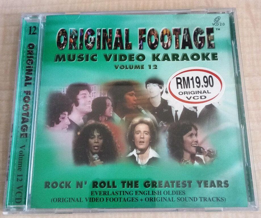 Original Footage Music Video Karaoke VCD Vol.12 Rock N Roll Greatest Years The Beatles Gilbert O\' Sullivan Carpenters Donna Summer