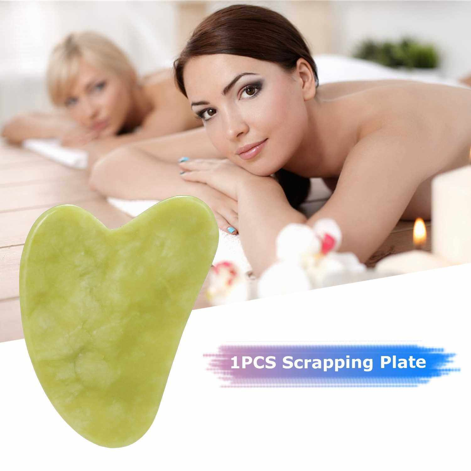 1PCS Scrapping Plate Massage Tool SPA Facial Care Face Lift Plate (Standard)