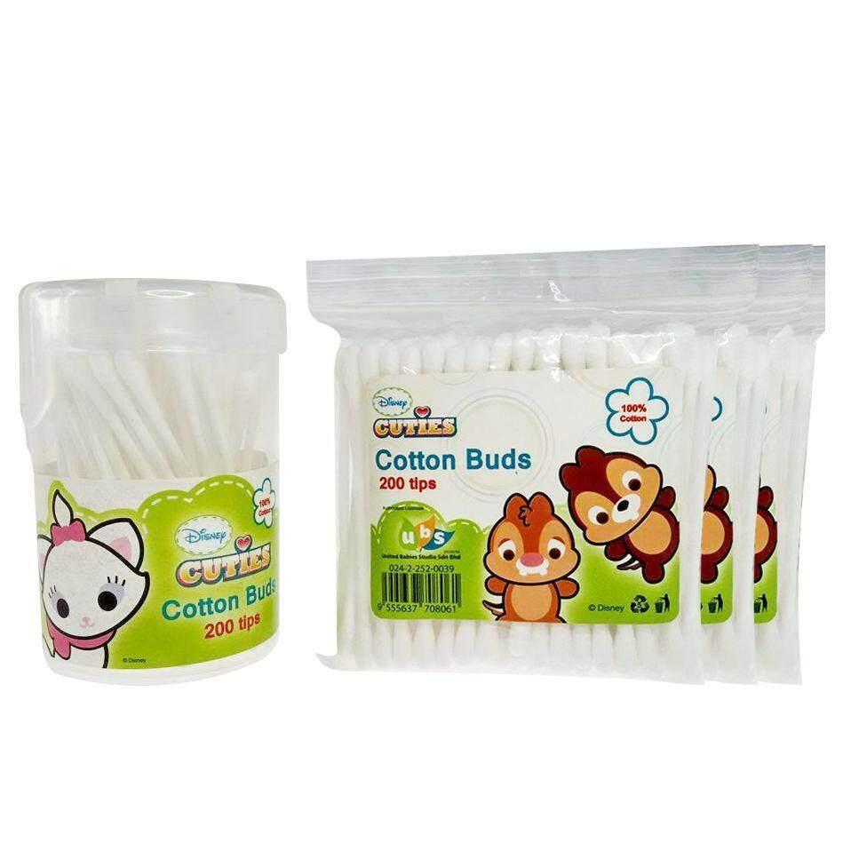 Disney Cuties 4 In 1 Cotton Buds 800 Tips Set - Chipmunks