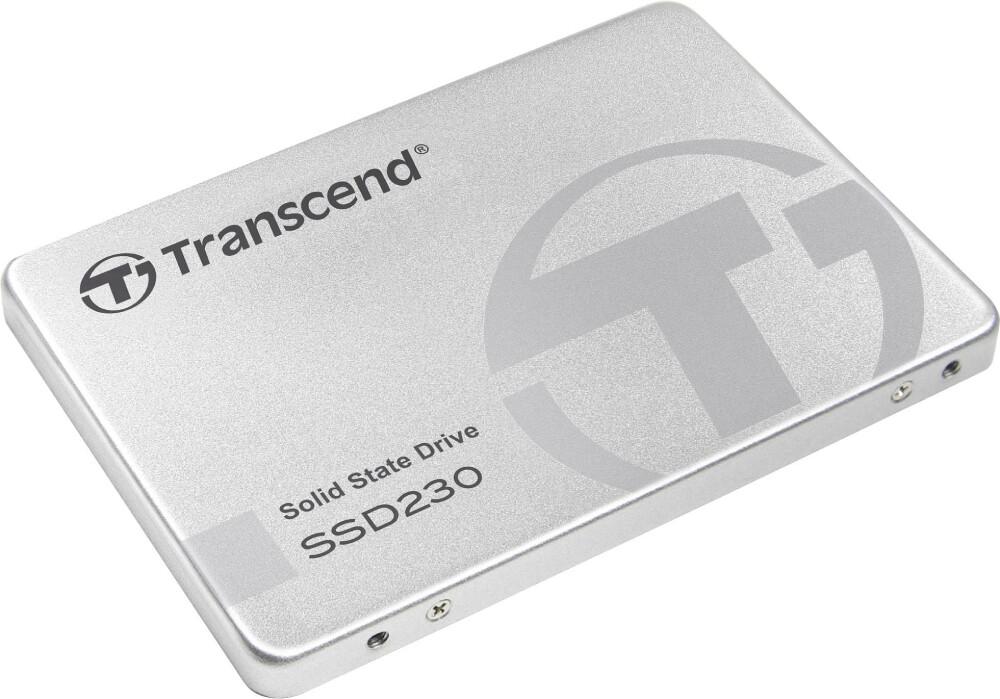 Transcend 230S 256GB / 512GB / 1TB / 2TB SATA III 6GB/s 2.5 Solid State Drive, 560 MB/s Read, 520 MB/s Write, 3D NAND flash memory