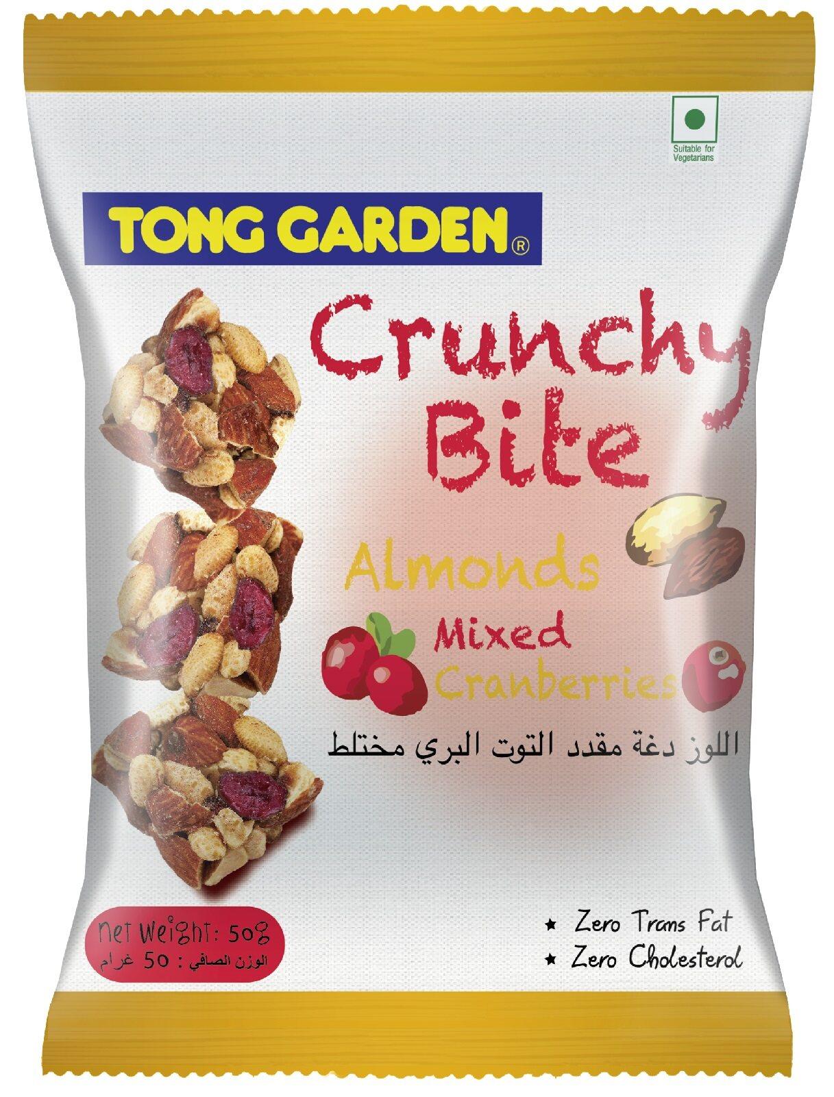 Tong Garden Crunchy Bites Mixed Mango 50g (2 + 1)