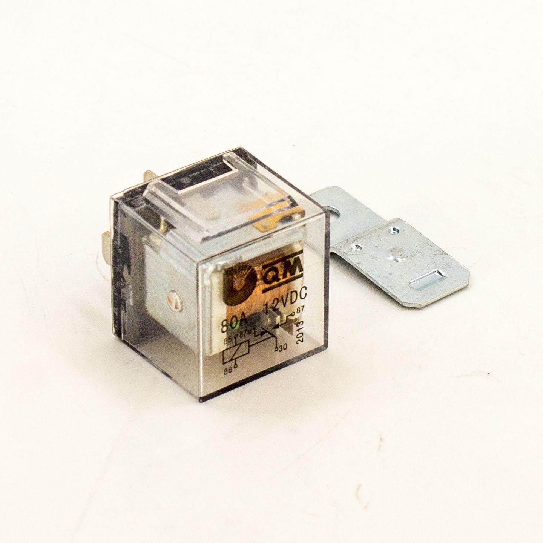 [cs auto] Relay 12V 5 Pin 80A Universal modify lampu besar horn wire + Metal plate ( Deals) (Printing Error)