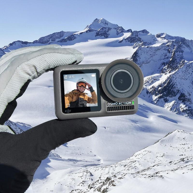 Camera Accessories - RCSTO DJI OSMO ACTION Camera Accessories Silicone Lens Protective Ring - Cameras & Drones
