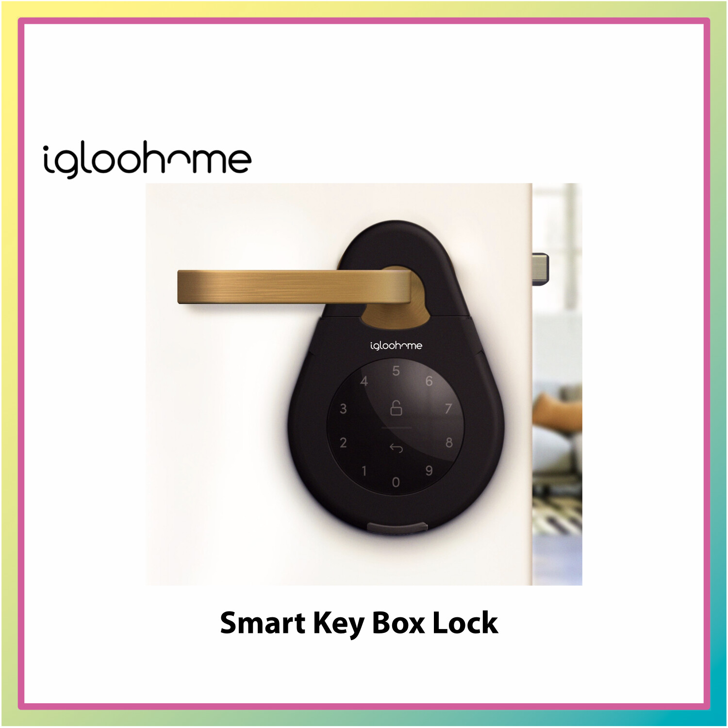 Igloohome Smart Key Box Lock 3 ( Bluetooth Apps