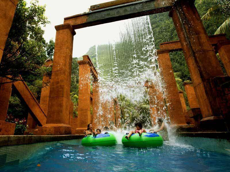 [Theme Park] Sunway Lost World of Tambun Water Theme Park + Hot Spring Night Park Entrance Ticket- Child (Ipoh)