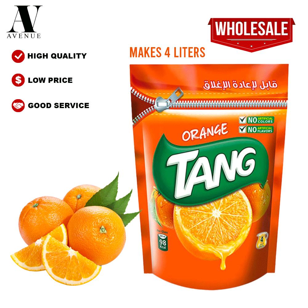 Tang Orange  Powder 500g ( MAKES 4 LITERS ) تانج مسحوق عصير سريع الذوبان