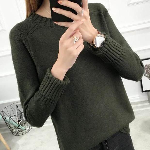 (Pre Order14 Days JYS Fashion Korean Style Women Knit TopCollection526-9860col525a-9860--Soldier Green-XL