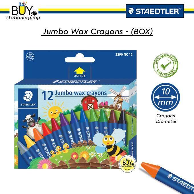 Staedtler Wax Crayon Jumbo- (BOX)