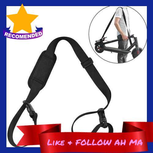 Best Selling 5.2FT Scooter Carrying Strap Oxford Cloth Scooter Shoulder Strap Cross-body Band for Xiaomi Mjia M365 Electric Scooter (Black)