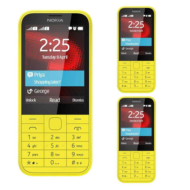 Nokia 220 (3 Pcs) Mobile (Fresh Import) Limited Edition 3 Phones